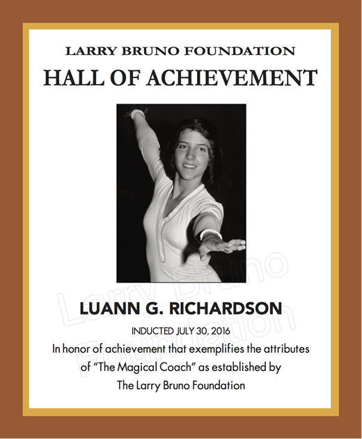 Rluannrichardson 2016plaque