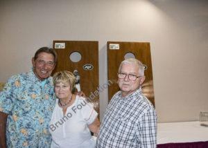 Joe N With Mr Mrs Faub With Cornhole Contrib