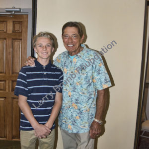 Joe N With The Grandson Of Jim Campbell