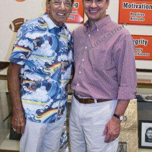 Joe Namath And Kevin Scanlon