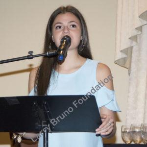Scholarhip Awardee Olivia Carbone