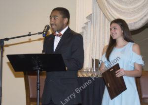 Scholars Bryce Allen And Olivia Carbone