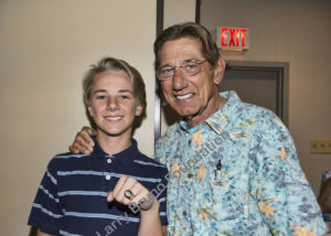 Grandson Of Jim Campbell With Super Bowl Ring