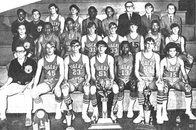 1970 Beaver Falls Basketball Team