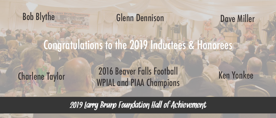 Congratulations To The 2019 Inductees & Honorees