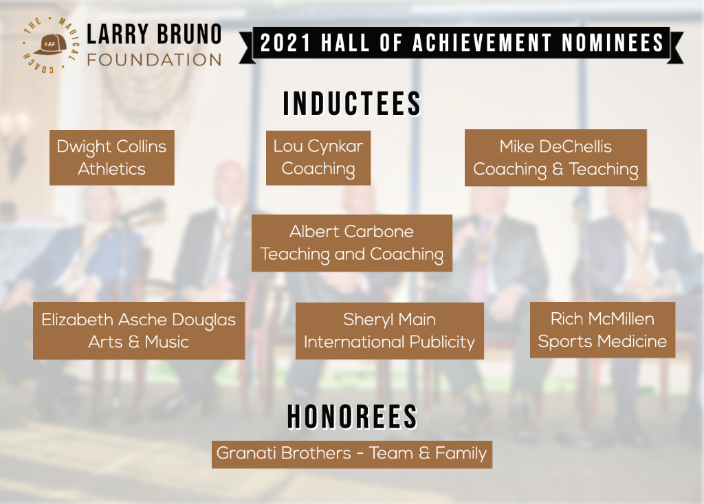2021 LBF Inductees Announcement