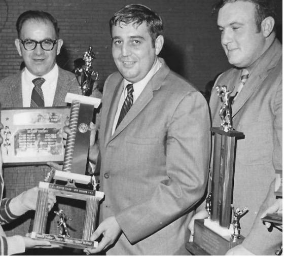 Coaches Al Carbone, Carl Florie, Bob Blythe