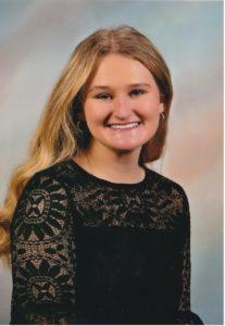 """Emma Martin, 2021 William """"Bill"""" Livingston Scholarship Recipient"""